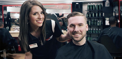 Sport Clips Haircuts of League City​ stylist hair cut
